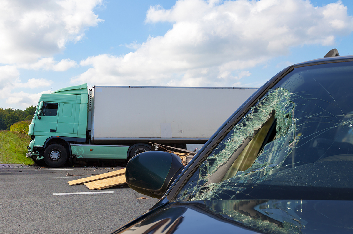 litigate a trucking accident case