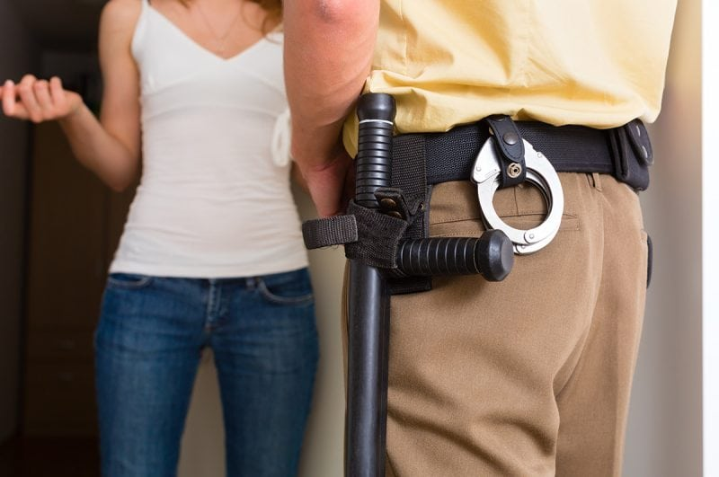 when is a warrant not required to search your home